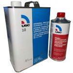 USC 10 Universal Urethane ClearCoat 1 Gal with Medium Speed Activator 1 Quart