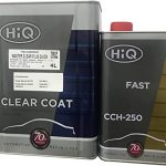 HiQ Quick Master Clear, High Performance Urethane 4 Liter Clearcoat/W Hardener